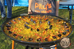Stor paella mixta